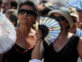 Junio ya no es primavera en Madrid