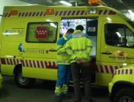 Dos heridos graves y tres leves en un choque entre dos turismos en Alcalá de Henares