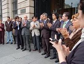Concentraciones y ausencias en el pregón de San Isidro por el atentado