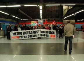 Un acto vandálico ha provocado retrasos en el Metro Ligero Oeste