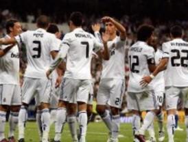 El Real Madrid gana por goleada al Getafe