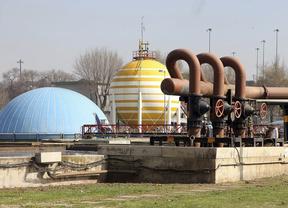 Una depuradora de aguas residuales