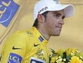 Pinto se vuelca con Contador