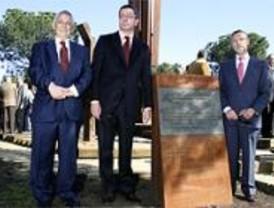 Gallardón inaugura el Monumento en memoria al Holocausto judío