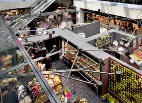 Mercado de San Antón: gastronomía y ocio en el centro de Madrid
