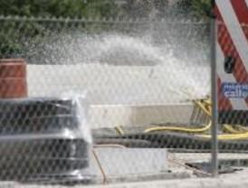 El PSOE denuncia que el agua de la M-30 va sin depurar al Manzanares