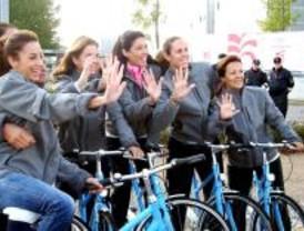 Marcha sobre dos ruedas por el espíritu olímpico