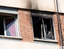 Un muerto y tres heridos en un incendio de una casa del Barrio del Pilar