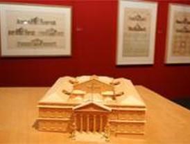 La exposición 'Pascual y Colomer' incluye 67 dibujos del arquitecto