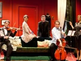 Violines y trompetas, en el teatro Muñoz Seca