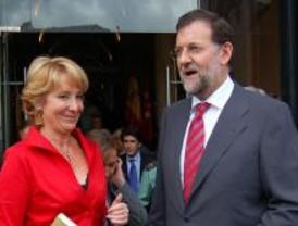 Aseguran que Rajoy contará con Aguirre tras el congreso del PP