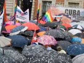 Una concentración pide el fin del régimen de Castro