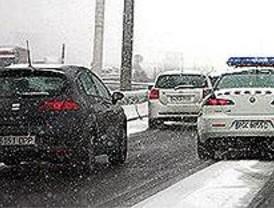 Madrid, en alerta de nuevo por la nieve y el hielo