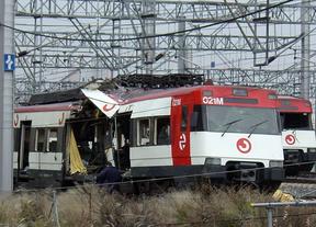 Tren reventado el 11M junto a Atocha.
