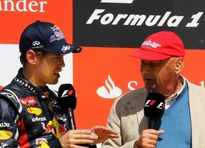 Dura crítica de Niki Lauda al campeón Sebastian Vettel