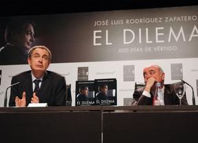 Zapatero hace autocrítica en la presentación de su libro