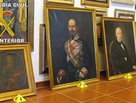 La Guardia Civil recupera varias obras de arte robadas en domicilios