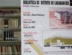 La nueva biblioteca de Carabanchel tendrá unos fondos compuestos por 100.000 documentos