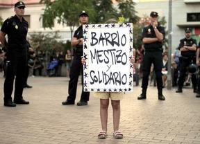 Concentración en Tetuán contra el centro neonazi Ramiro de Ledesma