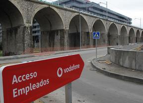 Nuevos accesos para la nueva sede de Vodafone en Barajas