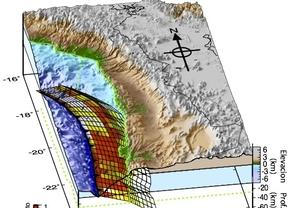 Descubren la relación entre la topografía y los terremotos