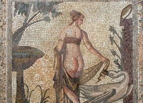 Una investigación analiza la construcción cultural del desnudo en los mosaicos romanos