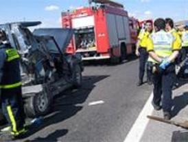 La carretera registra la mitad de los accidentes laborales