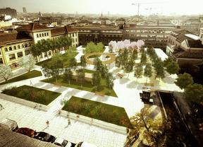 Tres bocetos para un jardín en el corazón de Madrid