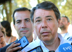 Ignacio Gonzalez (en primer plano) y Salvador Victoria