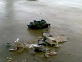La Policía explosiona de forma controlada una mochila en la T4 de Barajas