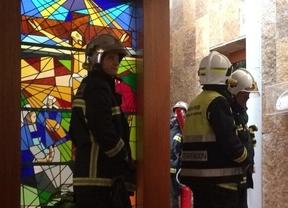 Extinguido un pequeño incendio en una iglesia de Boadilla