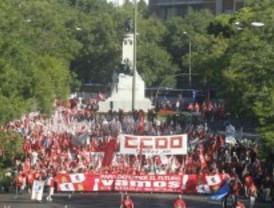 Las columnas del 15-S ya marchan por Madrid