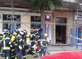 Fallece una mujer de 50 años en el incendio de su vivienda