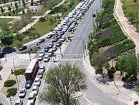 El incendio de un camión provoca retenciones en la carretera de Extremadura