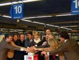 Alcobendas y San Sebastián unidas a Madrid por el Metronorte