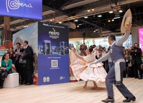Feria Internacional de Turismo Fitur 2015. Baile regional del norte de Perú.