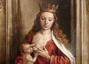La 'Virgen de la leche', en el Prado