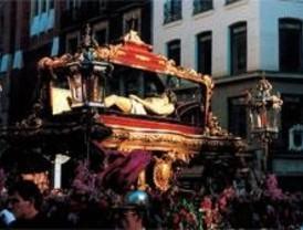 Tres procesiones toman el centro este Jueves Santo