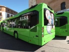 Cuatro autobuses con menos humos, en Torrejón