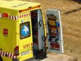 Muere un motorista en la M-510 tras salirse de la vía