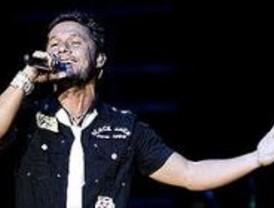 Diego Torres no pudo cantar 'Color esperanza' en el Conde Duque