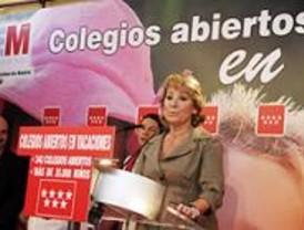 Aguirre anuncia la creación de 19 escuelas infantiles