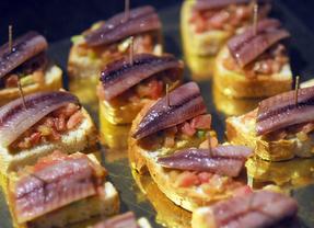 Miniaturas gastronómicas en Conde Duque