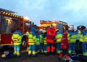 Una fallecida y un herido muy grave en un accidente de tráfico en Brunete