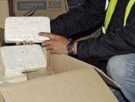 La Policía intercepta 73 kilos de cocaína y desmantela en Perales del Río un laboratorio de droga