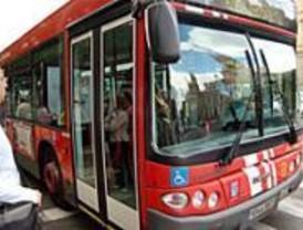 La sexta jornada de huelga parcial de autobuses se desarrolla con tranquilidad