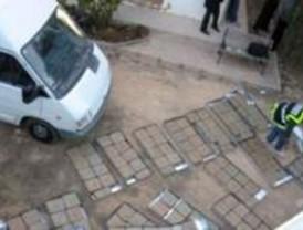 La Policía interviene el mayor alijo de hachís en Madrid