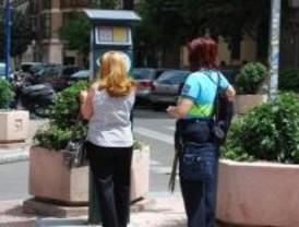 Concentración de empleados del SER contra las agresiones