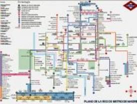 La Asociación de Amigos del Metro considera el nuevo plano confuso e ilegible