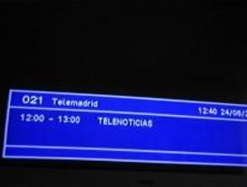 Telemadrid dice que el 66% de sus trabajadores no hacen huelga